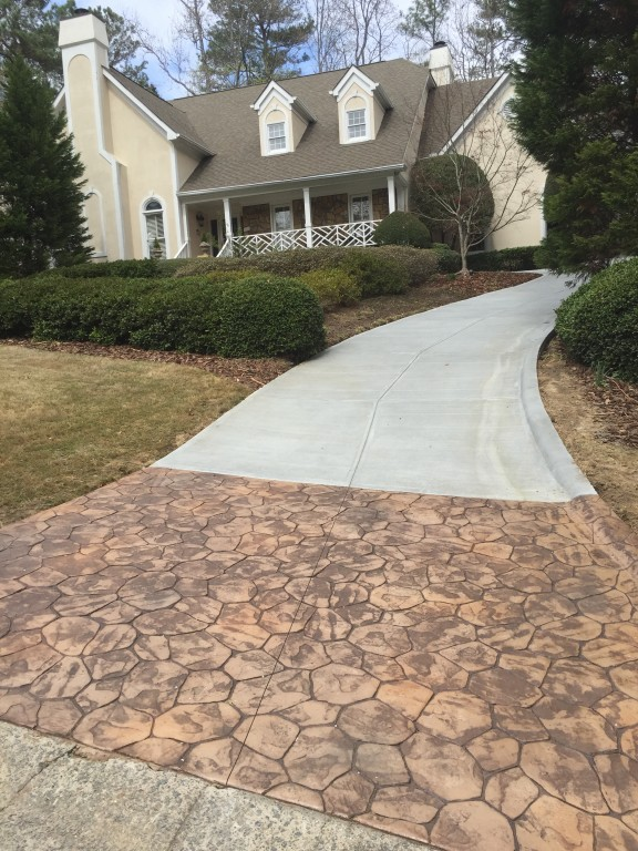 Stamped Concrete In Atlanta | Sudlow Concrete