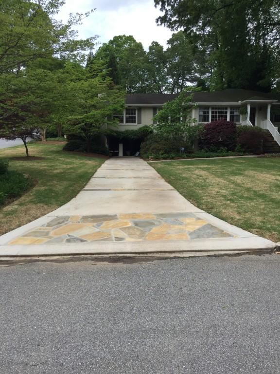 driveway aprons sudlow concrete. Black Bedroom Furniture Sets. Home Design Ideas