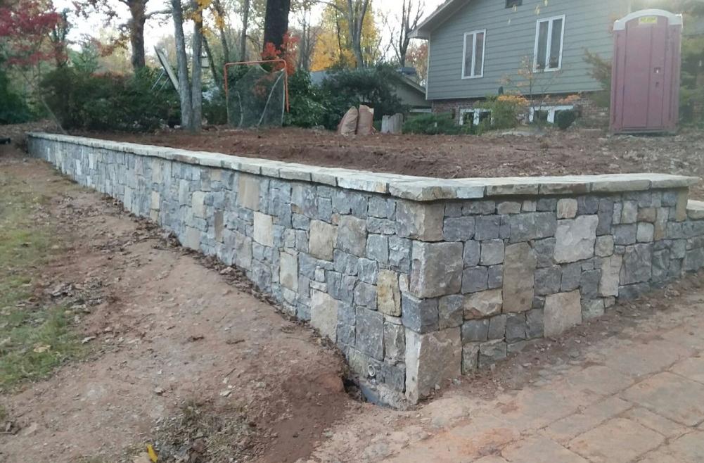 Design Of A Retaining Wall: Retaining Walls Of Atlanta